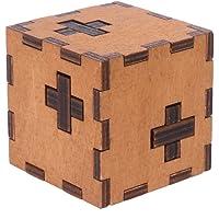 Junlinto, Suiza Cubo Caja de Madera Secreta