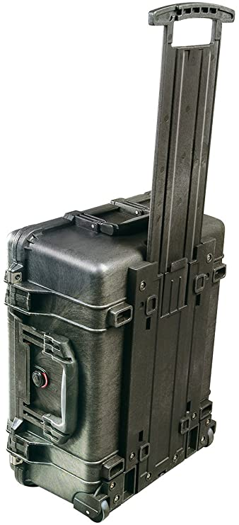 Pelican 1560 Case No Foam (Black)