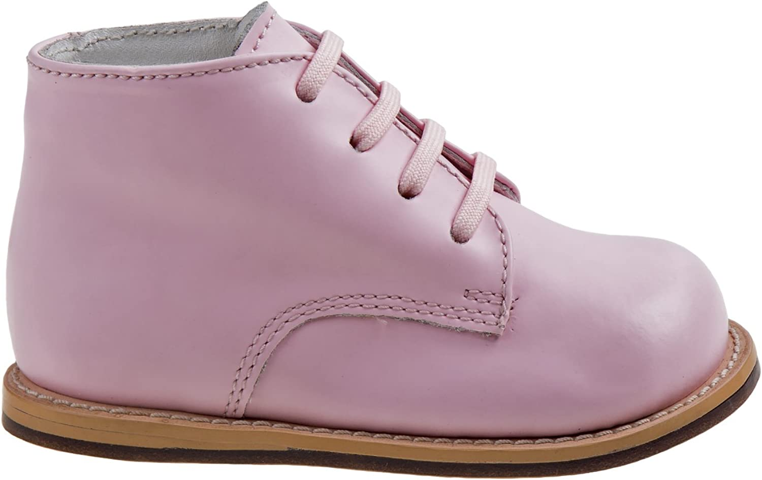 Josmo Infant//Toddler Girls First Walker Pink Oxfords Shoes