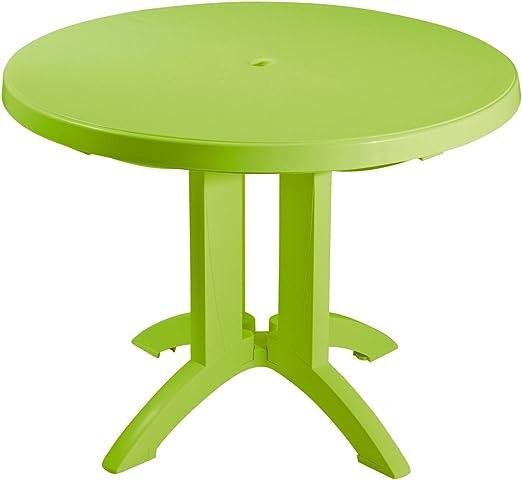 GROSFILLEX - Table ronde de jardin Vega: Amazon.fr: Jardin
