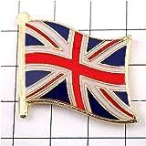 ピンバッジ イギリス 国旗 ユニオンジャック 英国 デラックス薄型 キャッチ付 GB UK