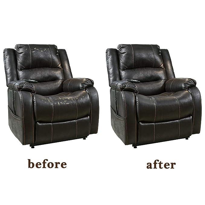 Kissbuty Parche de piel para reparación de sofás, sillones ...