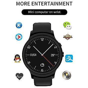 ZMM Reloj Inteligente Android 5,1 Pulsera SIM Tarjeta 3G ...