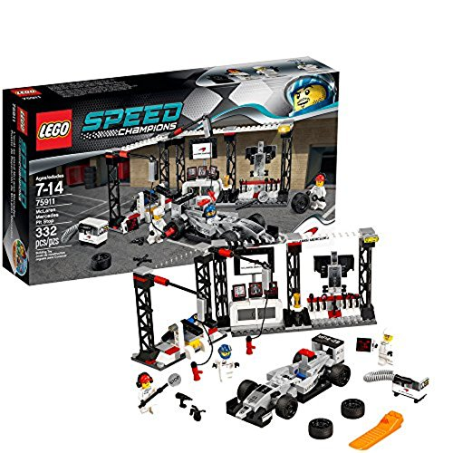 LEGO Speed Champions McLaren Mercedes Pit Stop 75911 (Best Games Console For 7 Year Old 2015)