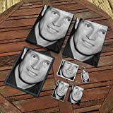 Nick Moran - Original Art Gift Set #js002 (Includes - A4 Canvas - A4 Print - Coaster - Fridge Magnet - Keyring - Mouse Mat - Sketch Card)