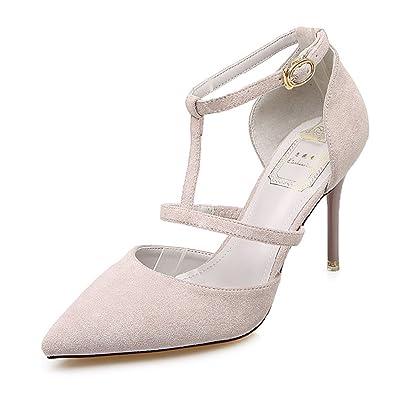 Damenschuhe Sandalen Pumps Abendschuhe Stiletto Riemchen HighHeels Party Mode