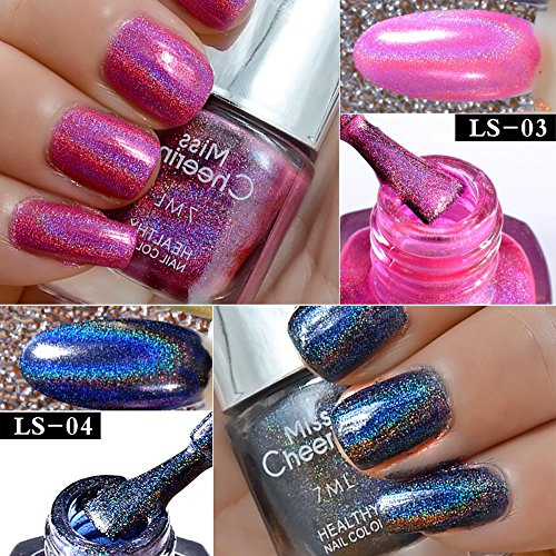Hot Sale Nail Polish Powder TRENDINAO Fashion Effect Nail Powder No Polish Foil Nails Art Glitter Silver