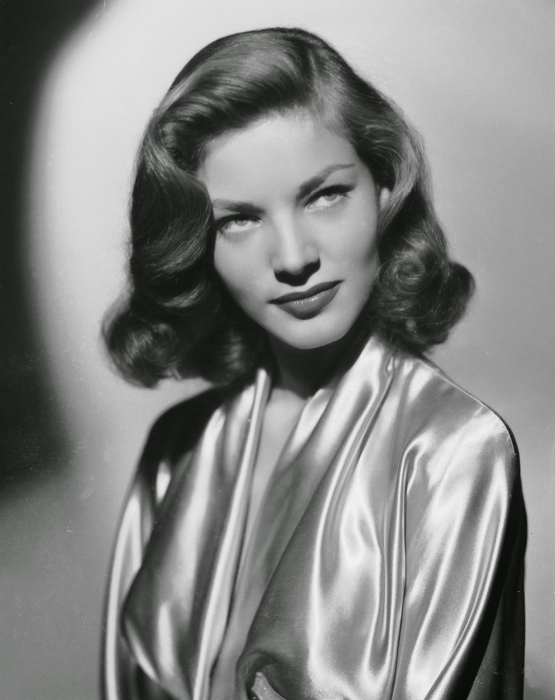 Amazon Lauren Bacall Short 1940s Hairstyle Hollywood Celebrity