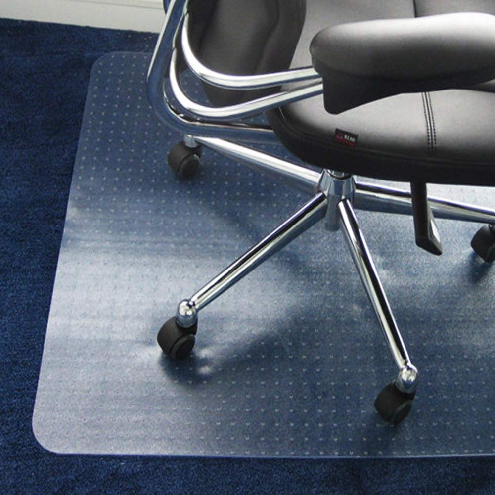 Office Carpet Chair Mat - Office Chair Floor Protector - 36''×48'' for Low/Medium Pile Carpets by SHAREWIN