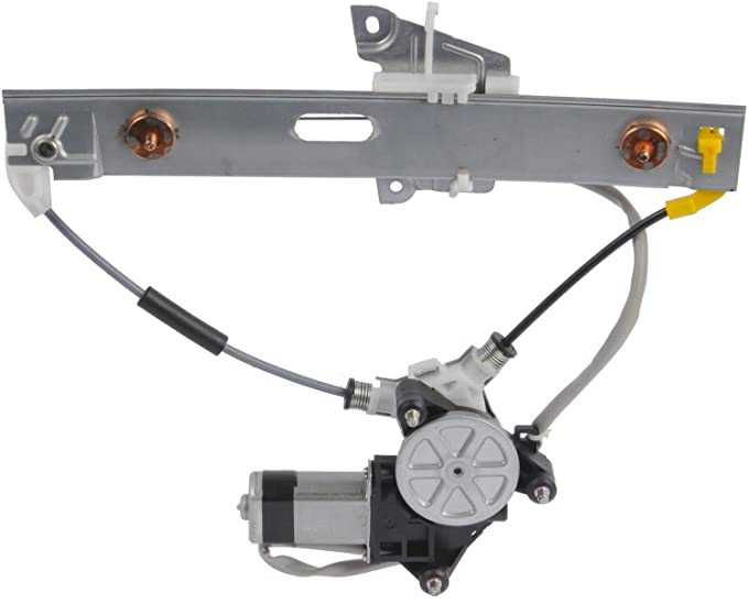 Pro Braking PBR4087-CAR-GRE Rear Braided Brake Line Carbolook Hose /& Stainless Green Banjos