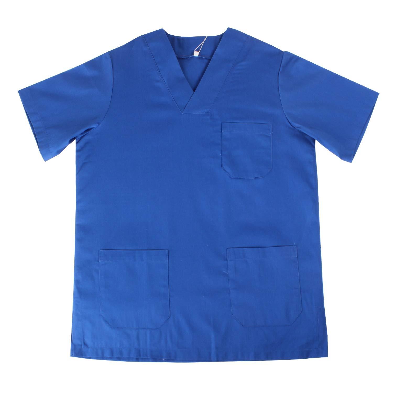 Misemiya ® - Casaca Unisex MÉDICO Enfermera Uniforme Limpieza Laboral ESTÉTICA Dentista Veterinaria Sanitario HOSTELERÍA - Ref.817: Amazon.es: Ropa y ...