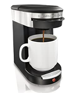 Hamilton Beach 49970 Personal Cup One Cup Pod Brewer