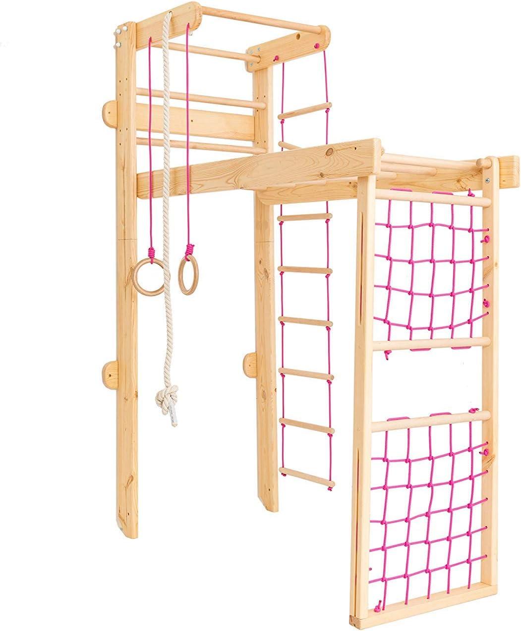 Kinderzimmer Kletterwand klappbar