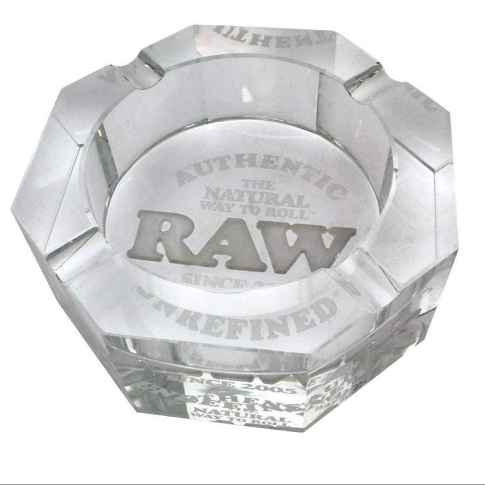 RAW Solid Leaded Crystal Ashtray by RAW