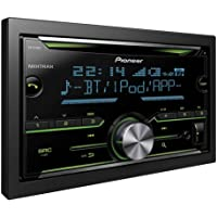 Pioneer FH-X730BT Bluetooth Noir récepteur multimédia de Voiture - Récepteurs multimédias de Voiture (Noir, 2 DIN, 4.0 canaux, 50 W, CD,CD-R,CD-RW, MOSFET)