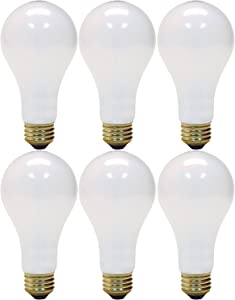 GE Lighting 3-Way 50-200-250 Soft White Light Bulb (Pack of 6)