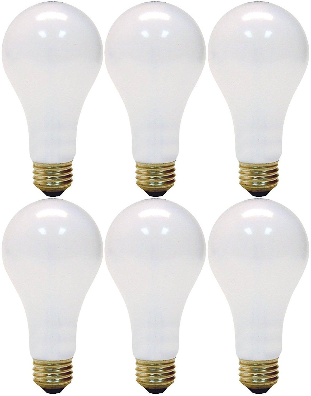 GE Lighting 3-Way 50-200-250 Soft White Light Bulb (Pack of 6)