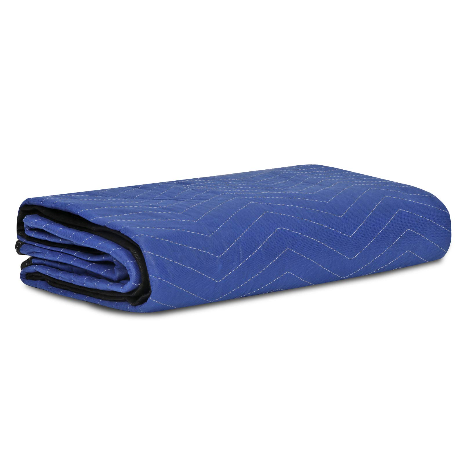 """F2C Mover Moving Blankets Pro Economy Thick 80""""x 72"""" Moving Packing Blankets Skins Pack of 12 Total 35Lbs/ Doz, Blue by F2C (Image #3)"""