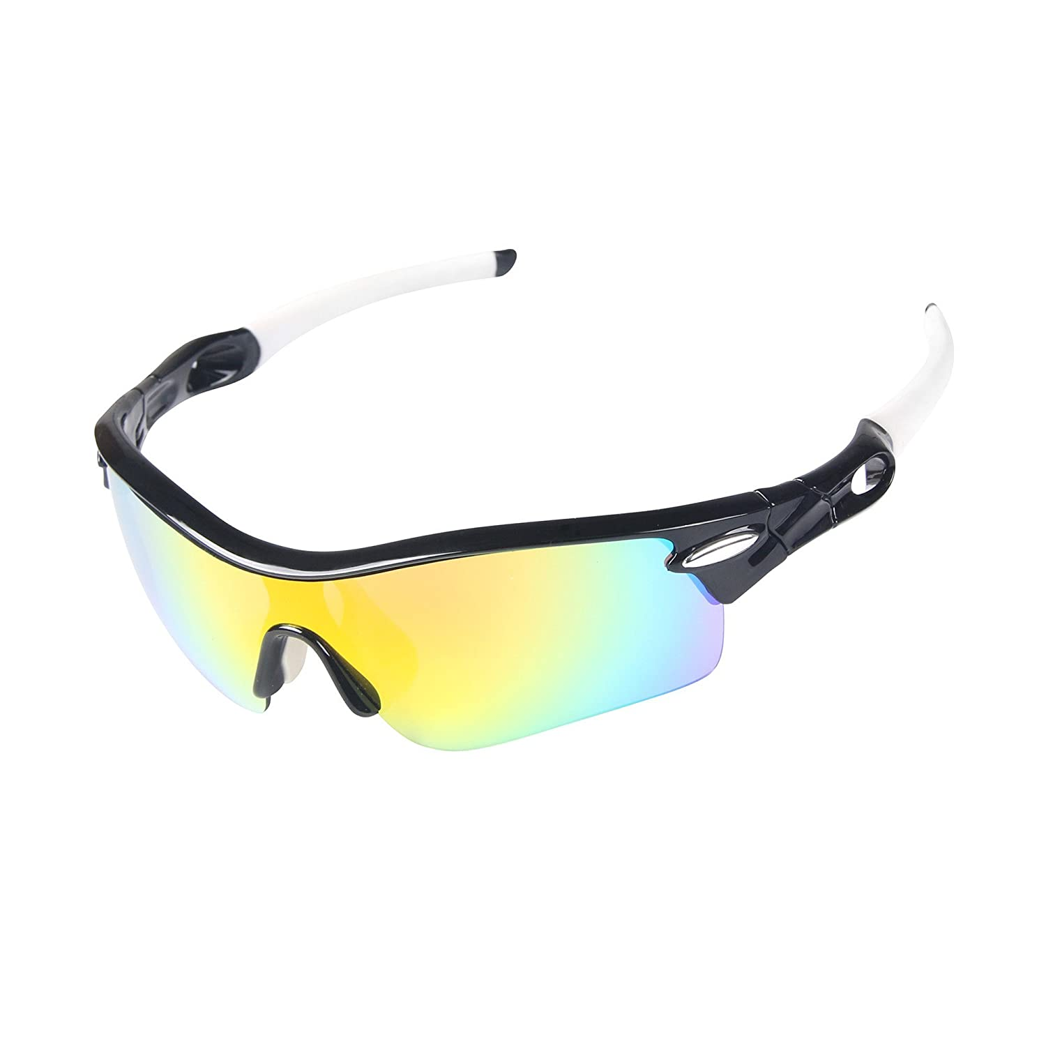 H:oter Nlite Vogue 5 Lens Combo Cycling Bike Sports Color Sun Glasses, 13 Colors 4 Choose H:oter® Cycling
