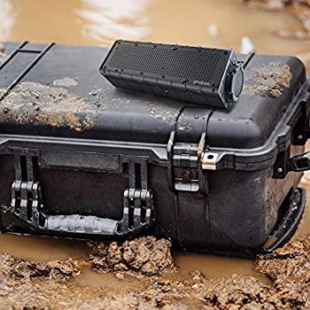 Photive Hydra Portable Bluetooth Speaker With Enhanced Bass. Waterproof Rugged Portable Speaker For Home, Travel & Outdoors 7