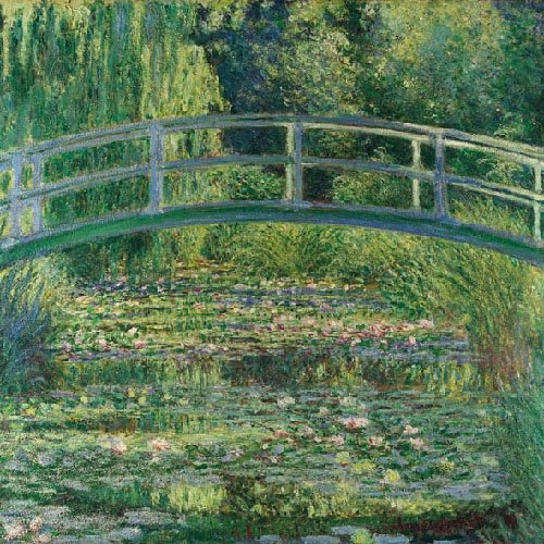 4 Paper Napkins for Decoupage - 3-ply, 33 x 33cm - Claude Monet The Water Lily Pond Tigers on the Loose