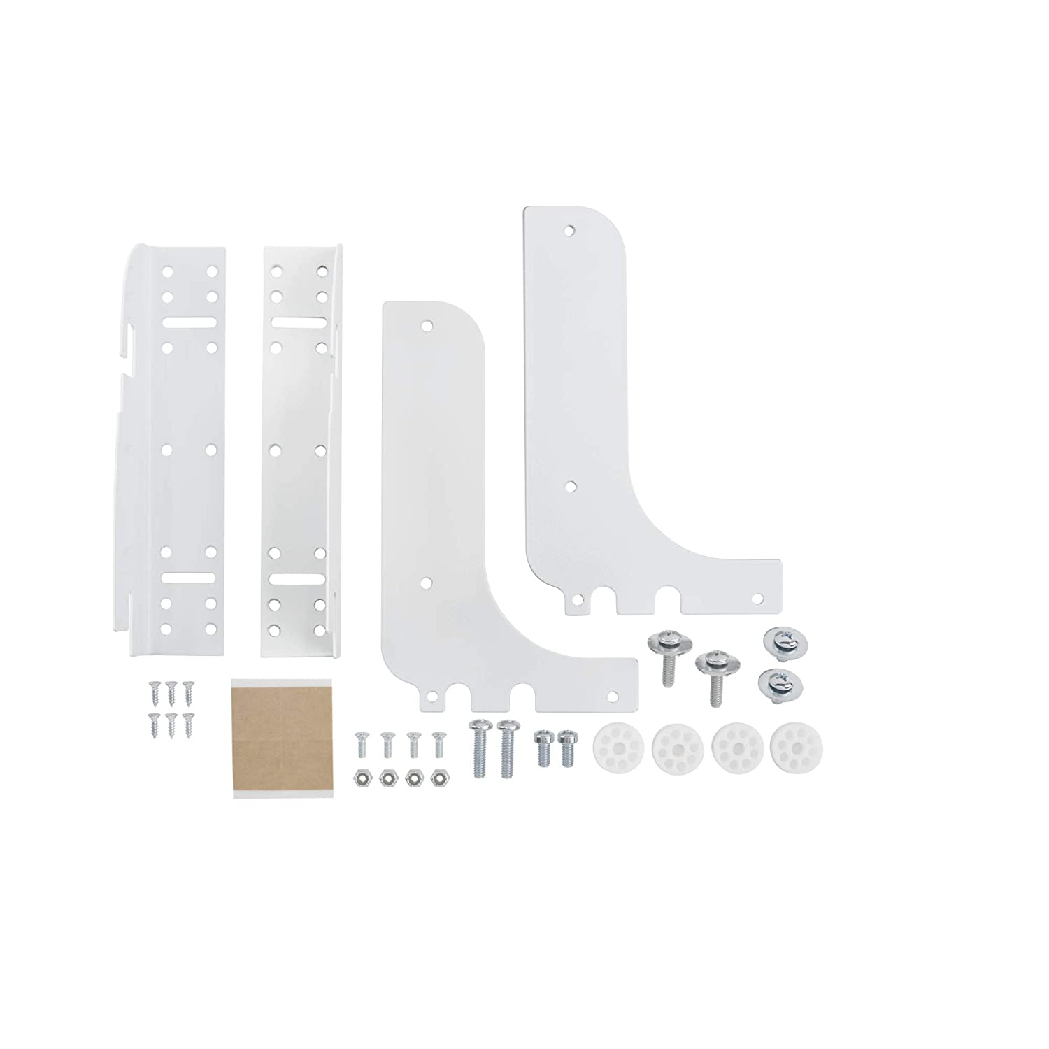Rev-A-Shelf RV DM KIT Door Mounting Kit for RV Series Kitchen Garbage Waste Containers, White