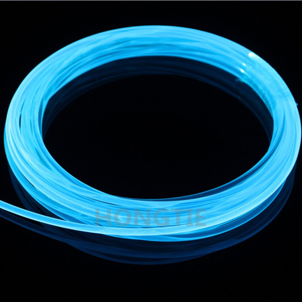 5meters3.0MM Universal Decoration Side Glow Fiber Optic Cable Car Light