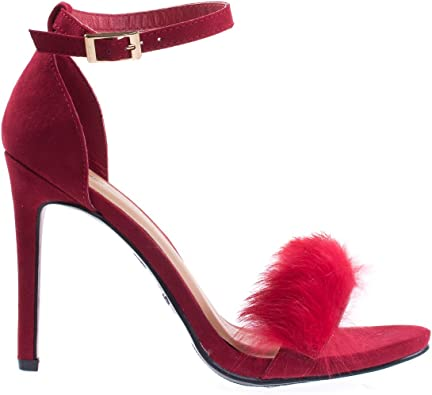Anne Michelle Fluffy Faux Feathery Fur
