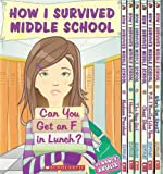 img - for 12 Book Set - How I Survived Middle School Series: Can You Get an F in Lunch?, Madame President, I Heard a Rumor, The New Girl, Cheat Sheet, P.S. I Really Like You, Who's Got Spirit?, It's All Downhill From Here + 3 More (How I Survived Middle School Set Series, Vol 1 - 8 + 10 - 12) book / textbook / text book