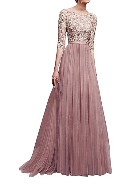 33c0dc4e0 Vestidos De Fiesta Largos De Noche Mujer Elegante Tallas Grandes Primavera  Verano Vestido De Novia Para