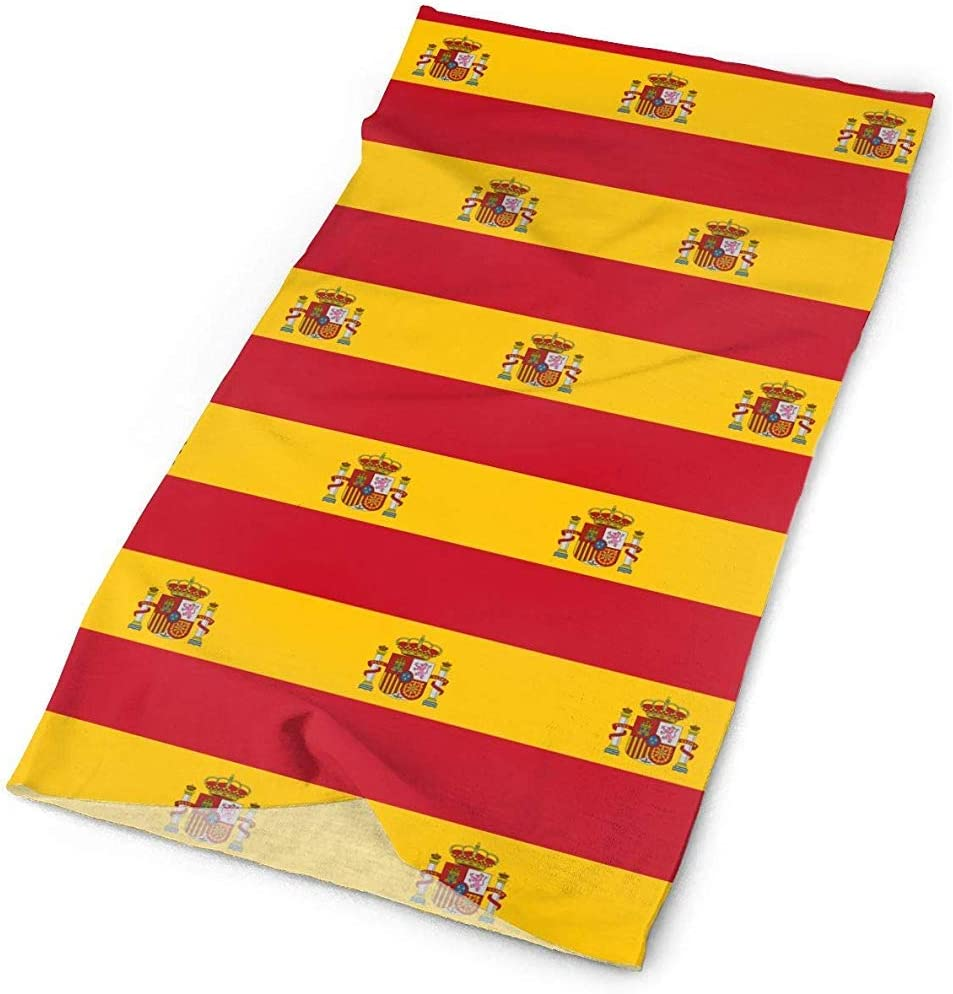 ulxjll Diadema España Bandera Patrón Bandanas Mascarilla Sombreros ...
