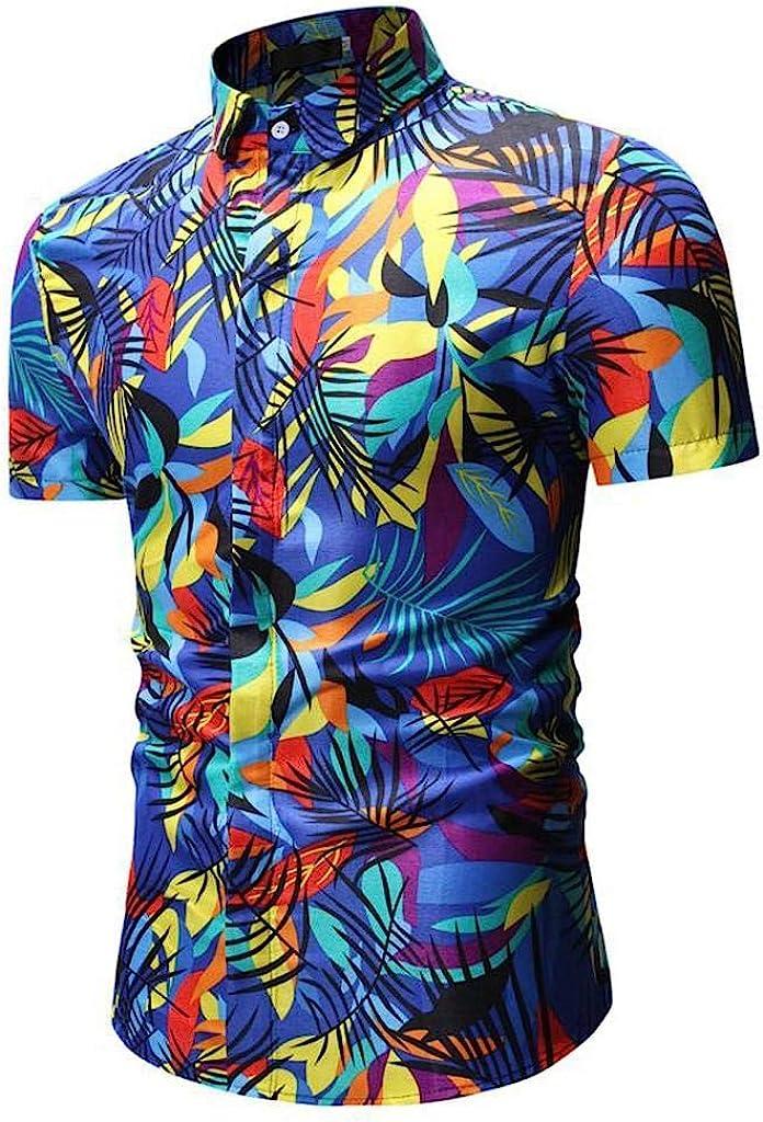 Camisas Hombre Flores 2019 Nuevo SHOBDW Camisetas ...