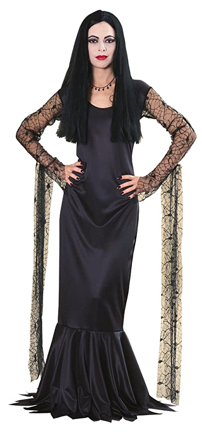 Vintage Inspired Halloween Costumes Rubies Costume Co Womens The Addams Family Morticia Costume  AT vintagedancer.com
