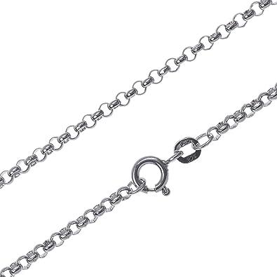 collier argent 55 cm