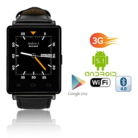 Elegante Unisex M365 Bluetooth SmartWatch para iPhone y ...