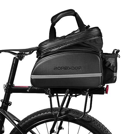Lixada 35L Bolso de Bicicleta Camel Bolsa para Maletero de ...