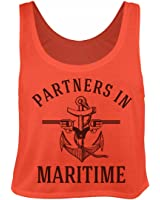 Partners In Crime Beach BFF Tank: Bella Women's Flowy Boxy Tank