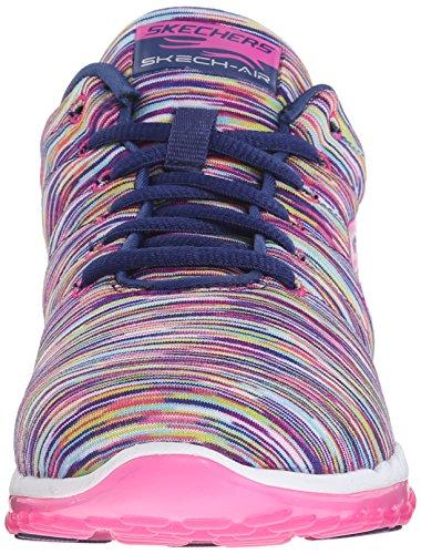 Skechers 12108 Chaussures de Gymnastique pour Femme Bleu Marine 37 œ