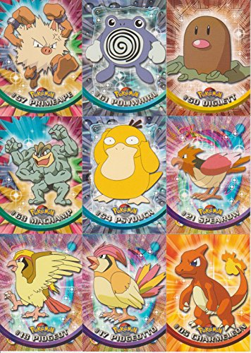 Topps Pokemon Trading Card Game 11 Card Lot with Primeape Photo - Pokemon Gaming