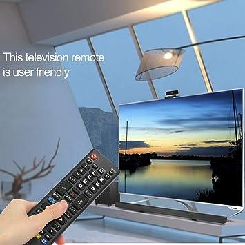 EasyBuying - Mando a distancia inalámbrico de repuesto para televisor LG HDTV, LCD, LED, Plasma, Smart Digital TV, color negro: Amazon.es: Bricolaje y herramientas