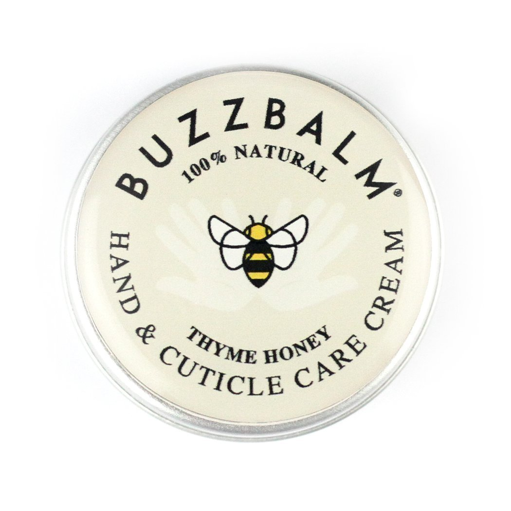 Cuticle Cream Softener All Natural - With Beeswax and Thyme Honey (8.5g) BUZZBALM