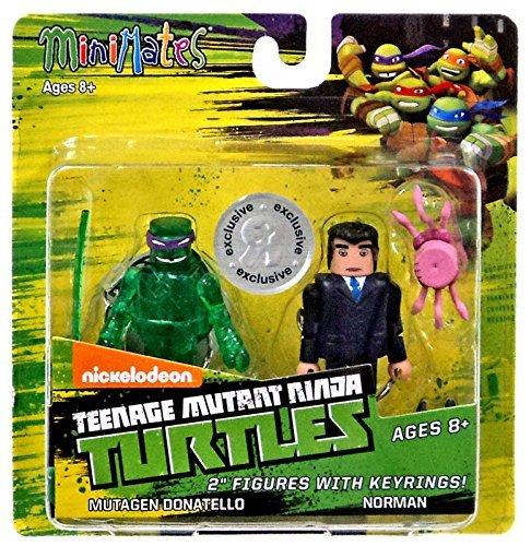 Teenage Mutant Ninja Turtles Nickelodeon Minimates Mutagen Donatello & Norman Exclusive 2