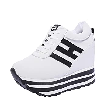 ... ZARLLE Zapatos Deportivos Zapatillas de Deporte Zapatos Corrientes de Las Mujeres Zapatos plataforma gruesa de fondo Zapatos interiores: Amazon.es: Bebé