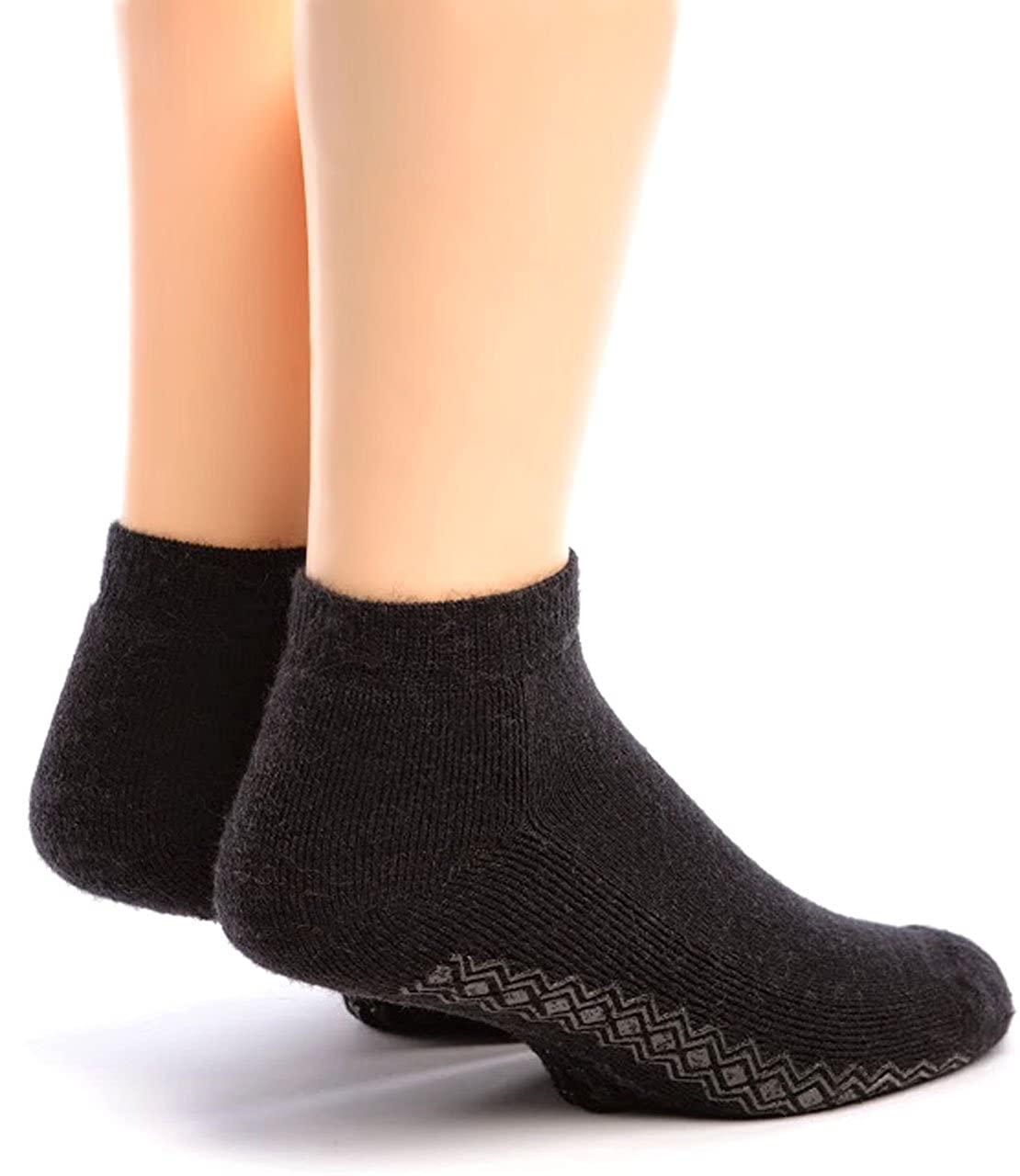 Warrior Alpaca Socks - Men's Non-Skid Mini Crew Sock NS-MAA1