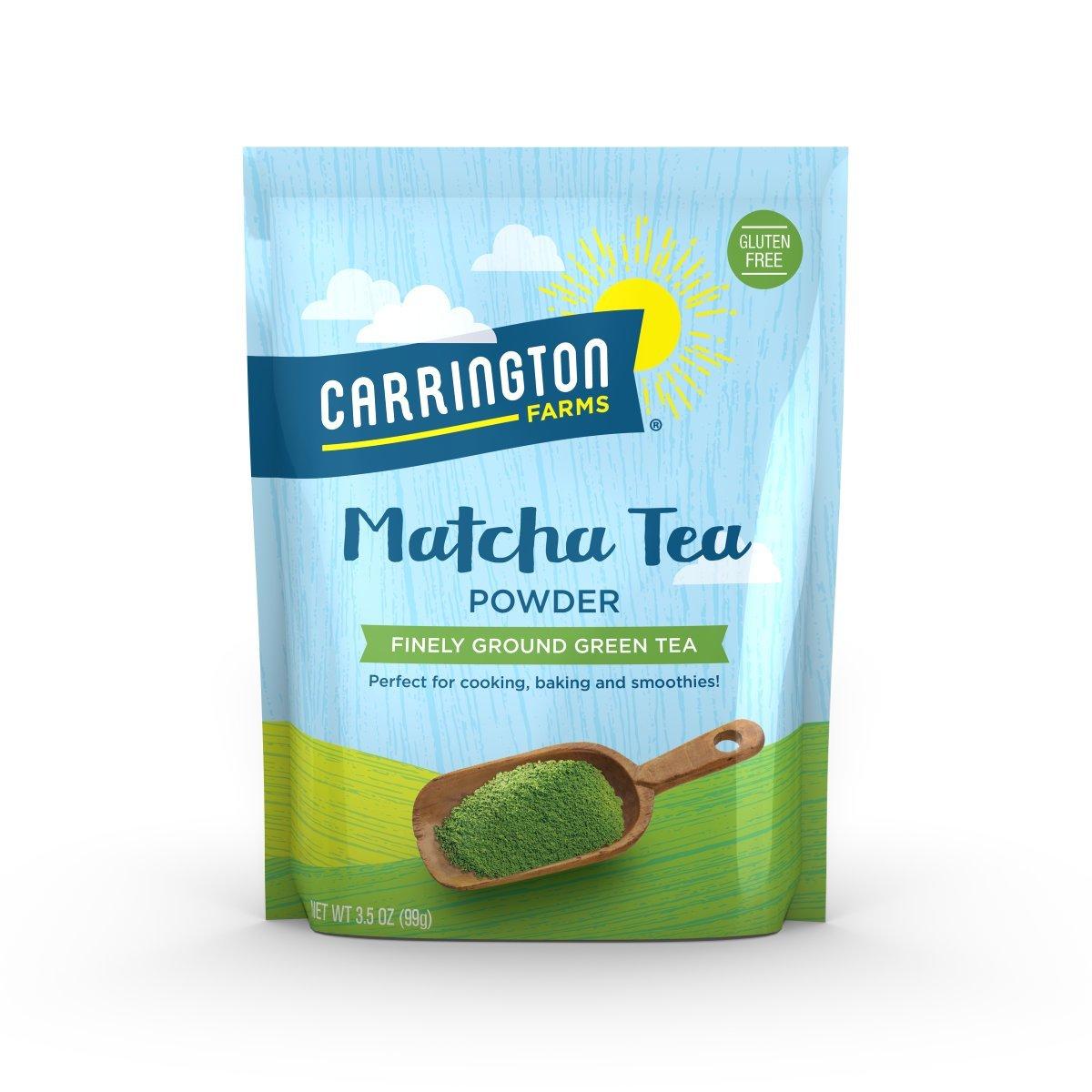 Carrington Farms Matcha Tea Powder 3.5 oz Pack of 2