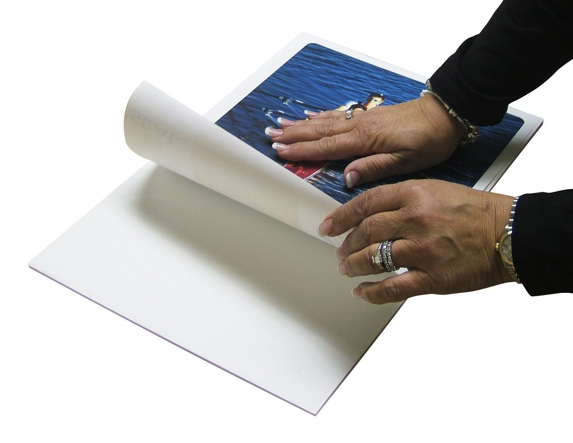 Self-Stick Gator Board - White 24''x36'' (4)