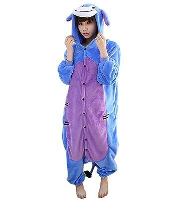 fc1cd02f7 Amazon.com  Yimidear Unisex Adult Onesie Eeyore Pajamas Animal ...