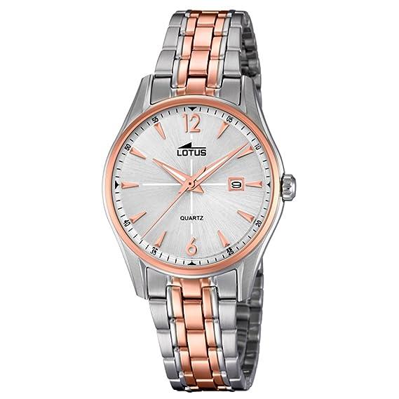 Reloj Stahlband Klassisch 183782LotusAmazon Klassik Lotus Mujer OkiXlZuTwP