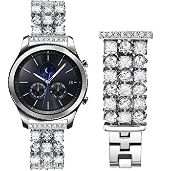 a watch super on band with mega or bling milanese silver pin sparkle swarovski bands loaded crystals apple