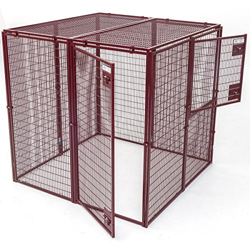 Animal House Thick Wire Gauge Ultra Heavy Duty Enclosure (5′ Hx5'Lx5'W) 221.8 lbs